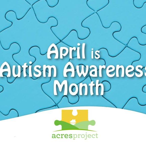 """Join ACRES outside of Anthym in downtown State College as we """"light it up blue"""" for Autism Awareness Month! We'll be handing out free cookies, glow br"""