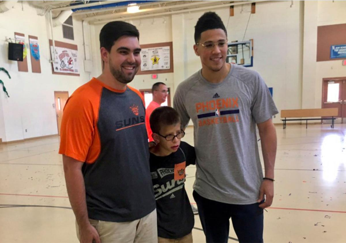 The NBA playoffs are heating up, and the Devin Booker and the Phoenix Suns are about the furthest thing from it. But.. If you want to read a great sto