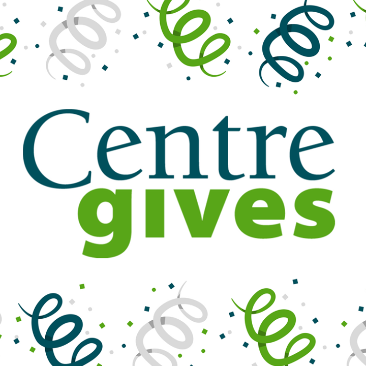 Centre Gives starts TOMORROW! Who's ready to help us grow?