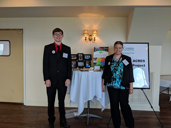 Good Luck to ACRES!!!! Mary and Jeff representing ACRES for our grant for employment for adults over 22!
