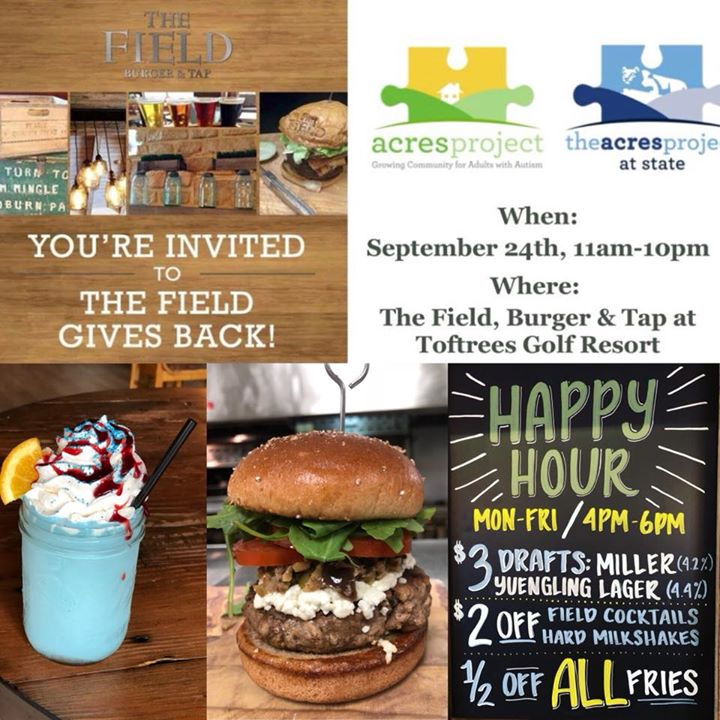Make sure to come out tommrow lunch dinner drinks, maybe several meals. 10% gets donated to us @theacersproject. Use it as a excuse to Take the office