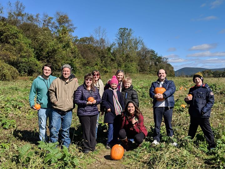 A great day at the pumpkin patch