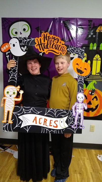 On October 30, ACRES hosted a Halloween party! We met some new friends, had some treats, made custom buttons, and took photos in the photo booth. It w