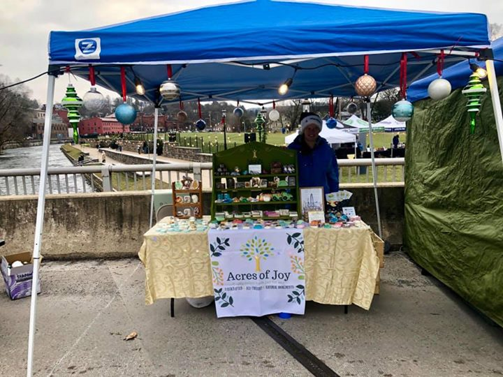 Ready to go at Bellefonte's Winter Market!