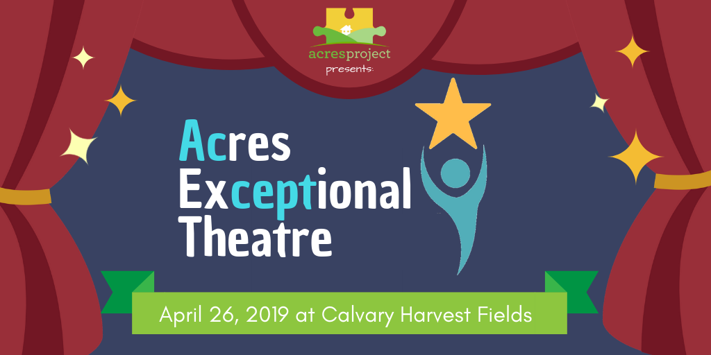 Tickets are on sale now for our first-ever dinner theatre fundraiser!  Join us at 5:00 PM at Calvary Harvest Fields for a pasta dinner and a performan