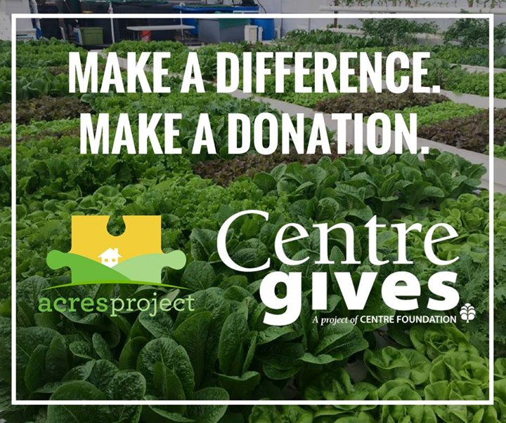 Centre Gives is coming soon! Support ACRES on May 7-8.