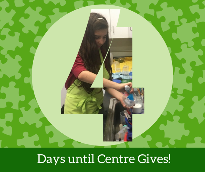 Just 4 days left until #CentreGives, a 36-hour online giving event by Centre Foundation! Starting at 8AM on May 7th, you can visit www.centregives.org