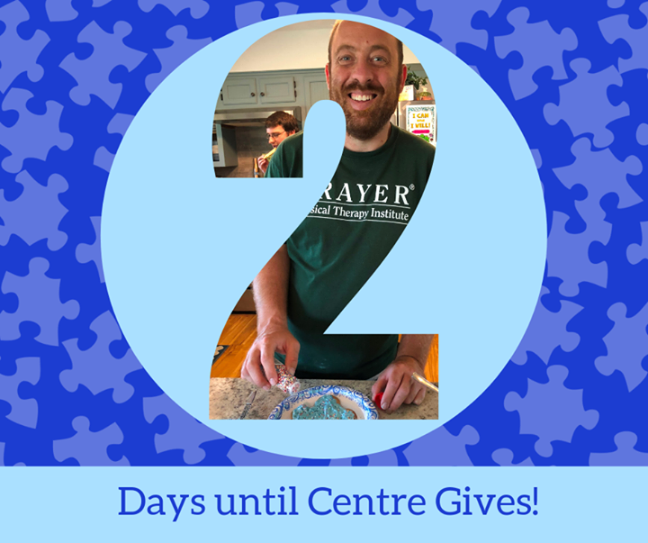 Just 2 days left until #CentreGives! Your MATCHED donation to ACRES through www.centregives.org will help us continue to foster friendships, life skil