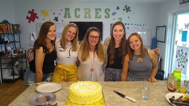 The ACRES Project was blessed with some truly wonderful and dedicated staff this spring and summer, so on Wednesday evening, we had a party to celebra