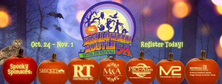 The Halloween Hustle 5K is ON! And there's still time to register, put on a costume, and run (or walk) for a great cause, no matter where you are! www