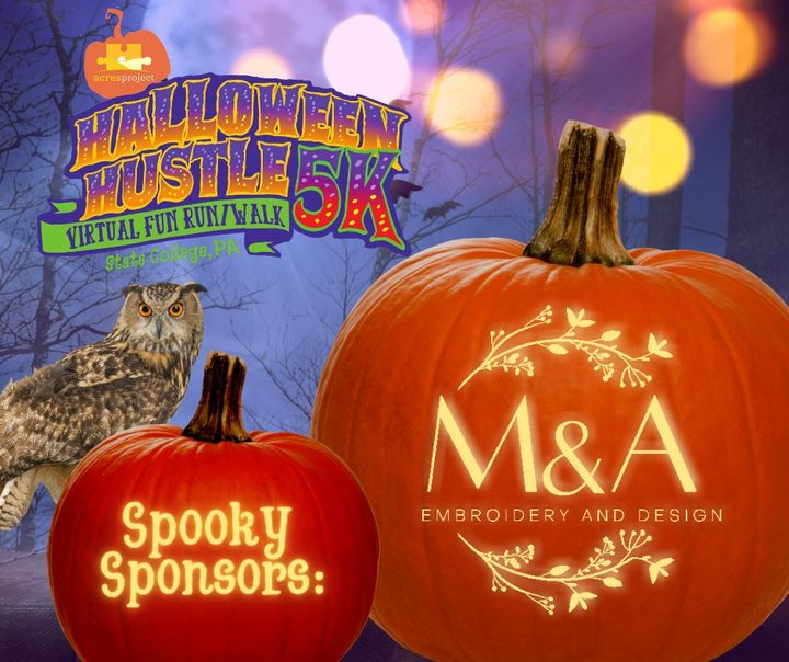 Huge thanks to all of the local businesses supporting ACRES through their sponsorship of the #acreshalloweenhustle!