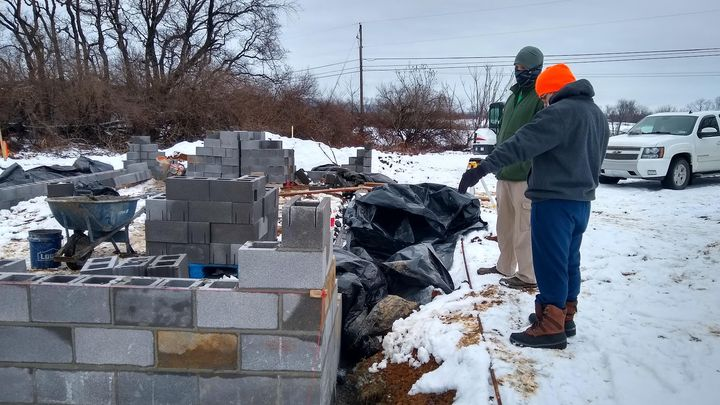Construction on our aquaponics greenhouse is really coming along, and it's already fostering opportunities for education and community connection! Ear