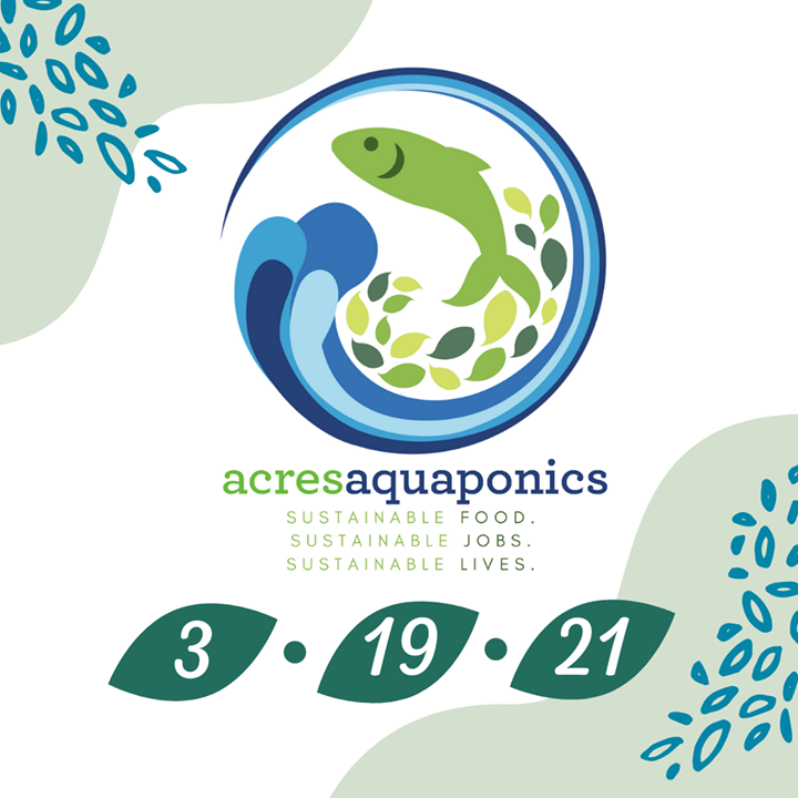Something exciting is coming to ACRES next month -- the greenhouse for Acres Aquaponics!