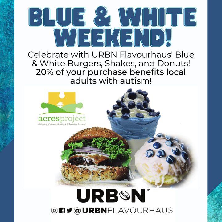 Blue & White Weekend looks different this year, but you can still celebrate with URBN Flavourhaus at Park Place in Bellefonte! Stop by their drive-thr