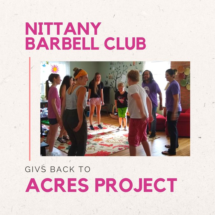 Our friends at the Nittany Barbell Club used Giv Local to donate a portion of their credit card processing fees to the Acres Project, ensuring that mo
